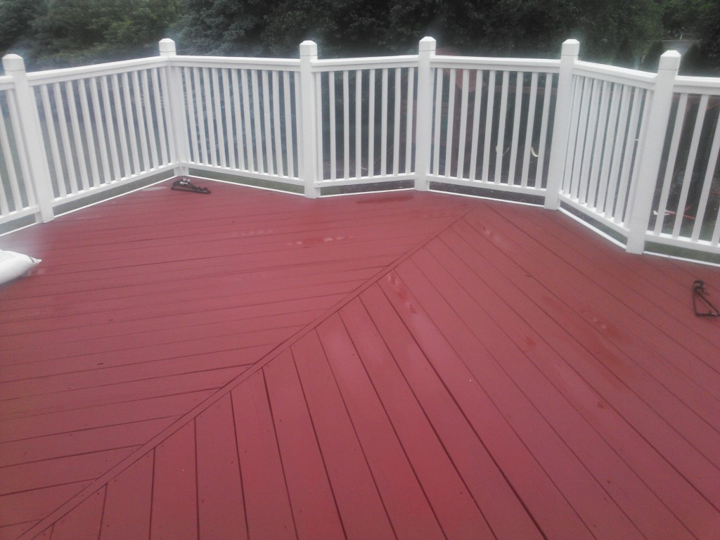 Deck Staining West Chester
