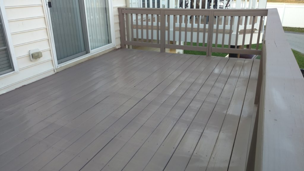 Deck Staining Chesterbrook