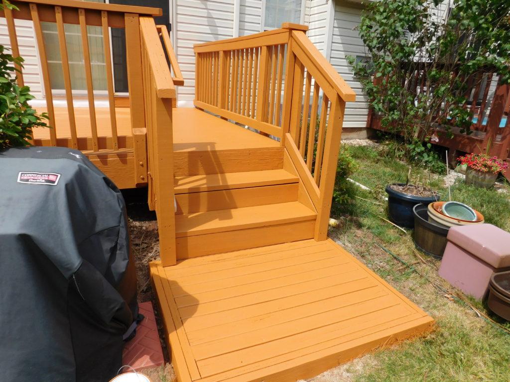 Deck Staining Schwenksville PA