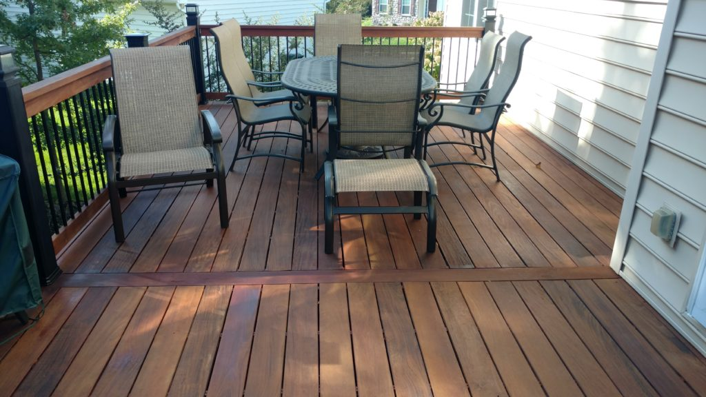 IPE Deck Staining Paoli