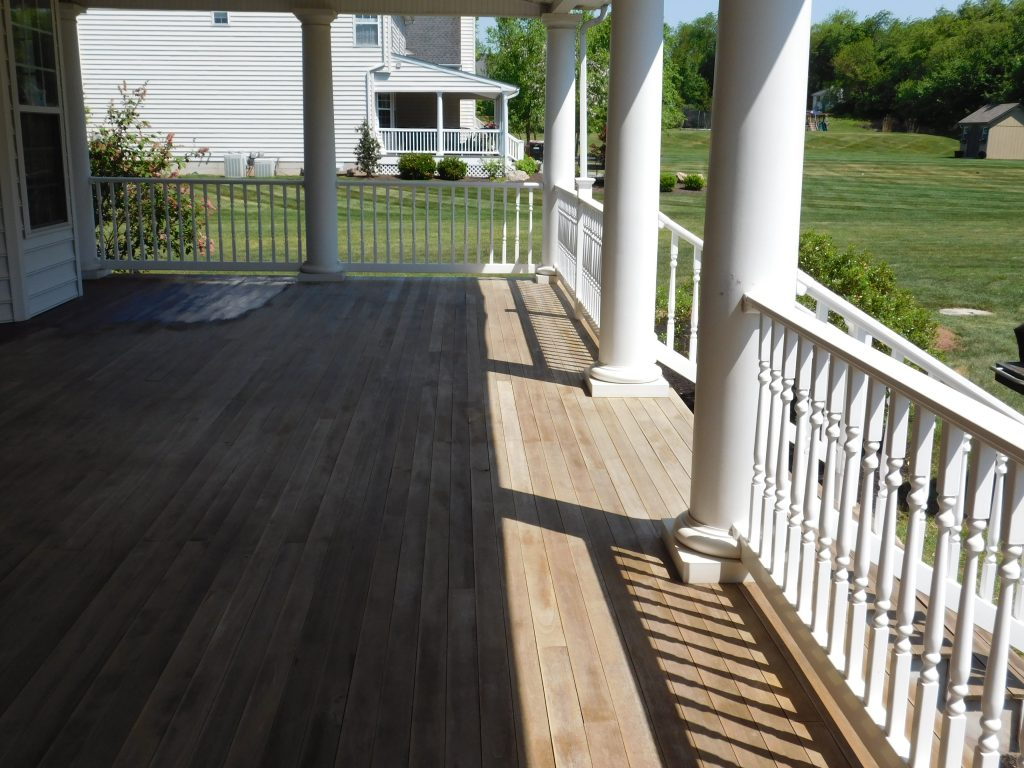 Before Deck Staining Collegeville