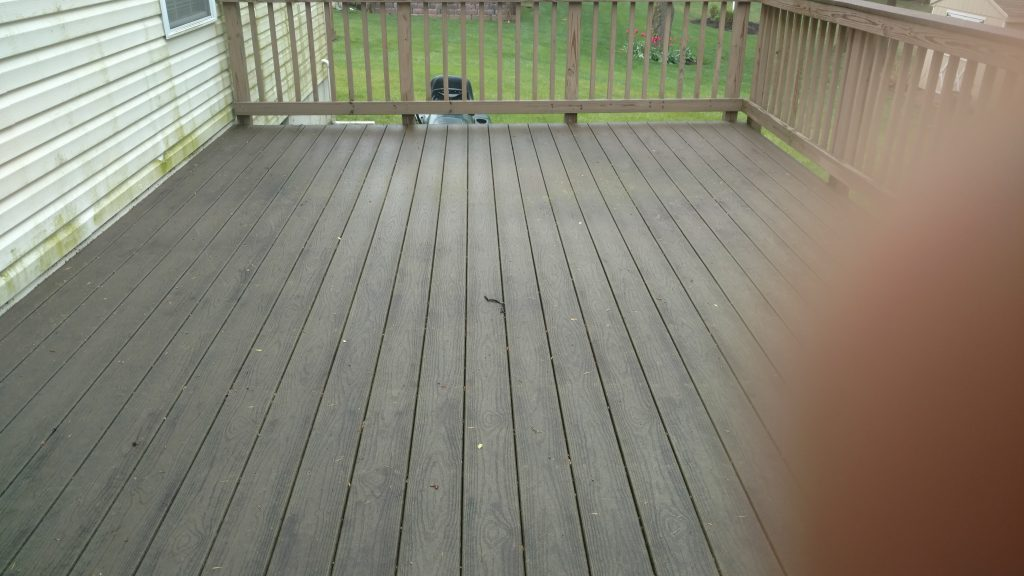 Before Berwyn Deck Staining & Washing