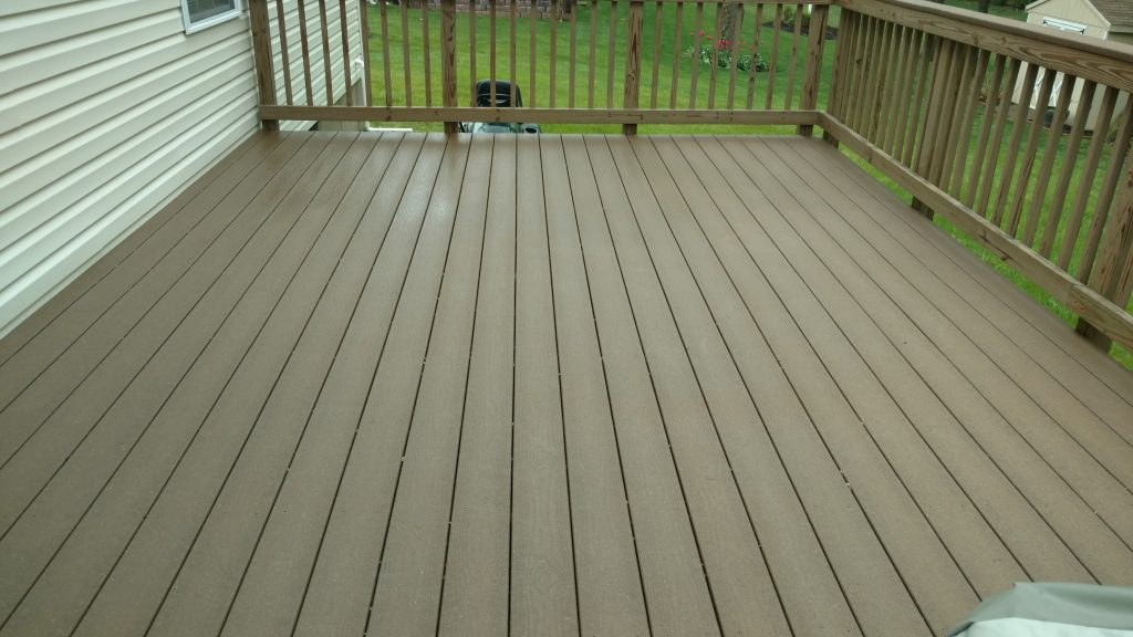 Berwyn Deck Staining & Washing After