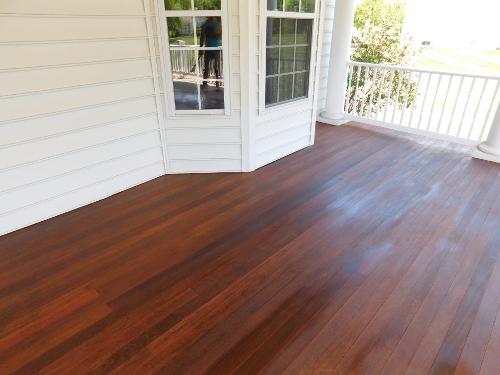 Collegeville Deck Staining