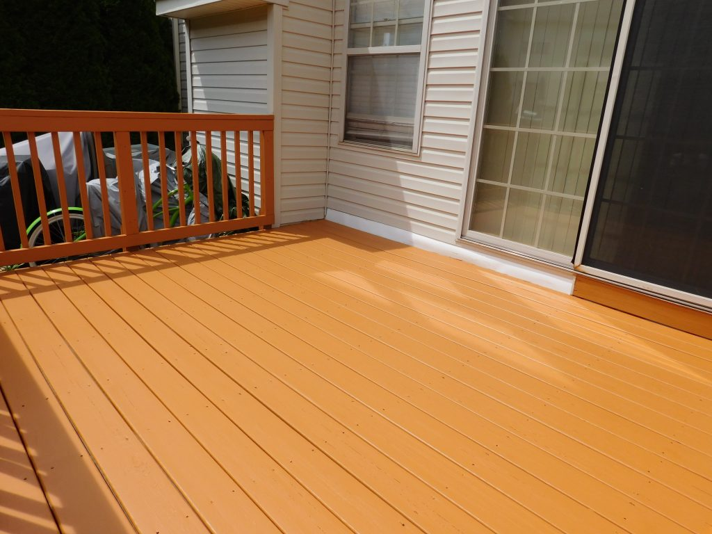 Deck Staining Limerick