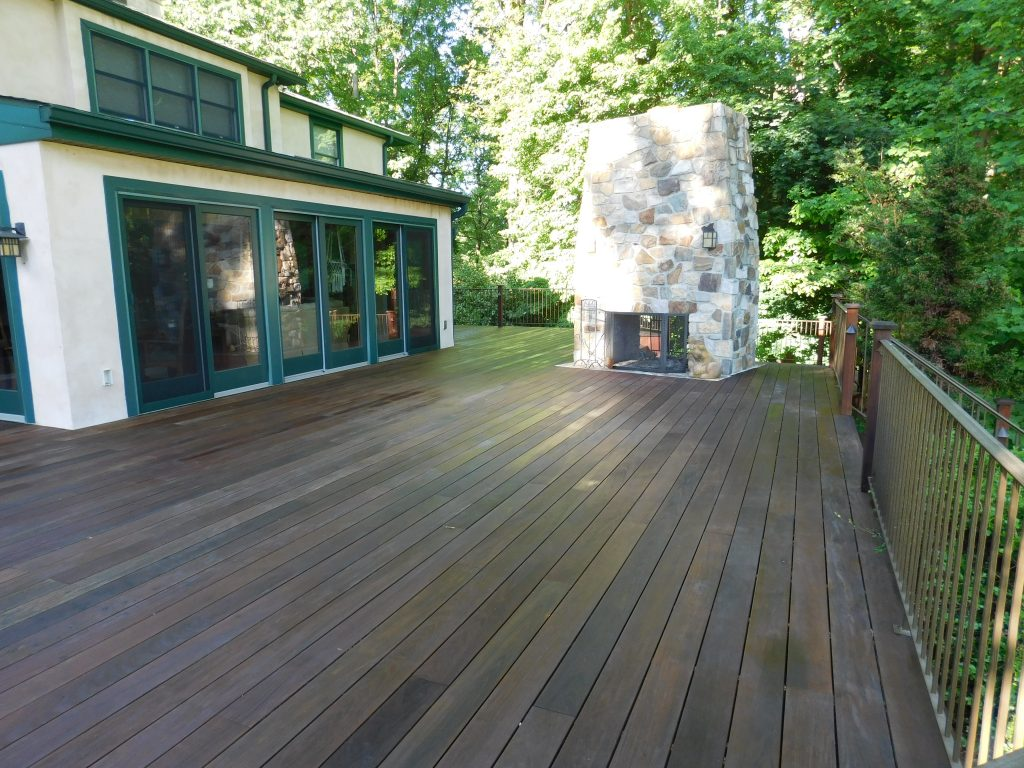 West Chester Deck Staining